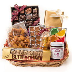Country Greeting Basket